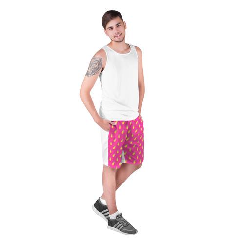 Мужские шорты 3D  Фото 03, Ананасы