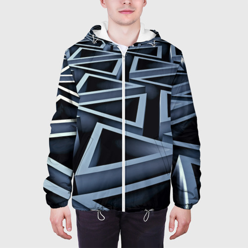 Мужская куртка 3D  Фото 04, Треугольники