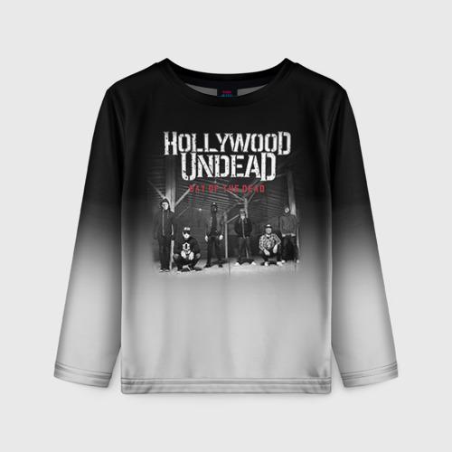 Детский лонгслив 3D Hollywood Undead 3