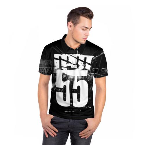 Мужская рубашка поло 3D  Фото 05, ГРОТ
