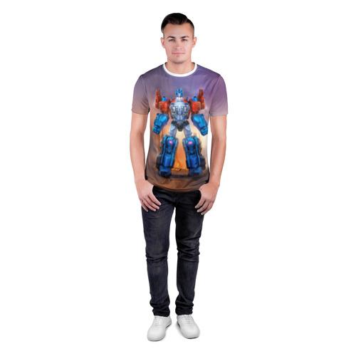 Мужская футболка 3D спортивная  Фото 04, Трансформеры