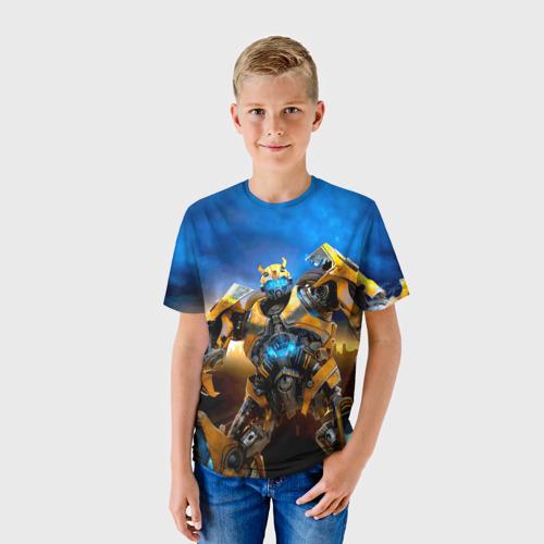 Детская футболка 3D Трансформеры