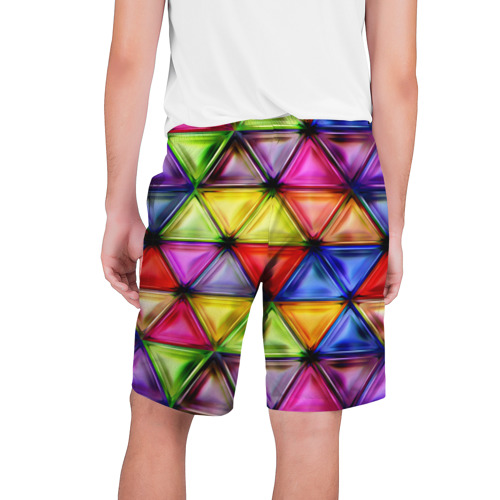 Мужские шорты 3D  Фото 02, Rhombuses