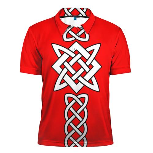 Мужская рубашка поло 3D Древняя Русь
