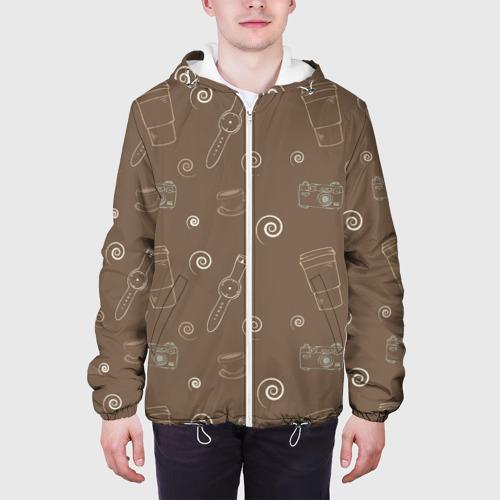 Мужская куртка 3D  Фото 04, Кофе