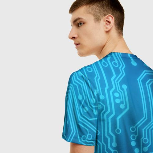 Мужская футболка 3D Есть ли жизнь OFFLINE? Фото 01