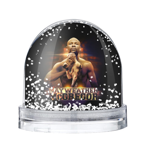 Водяной шар со снегом  Фото 01, Mayweather vs McGregor