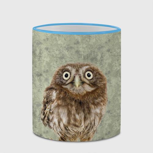 Кружка с полной запечаткой  Фото 03, Удивленная сова