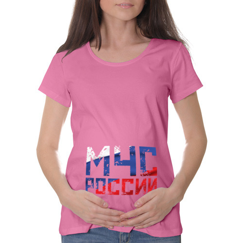 Футболка для беременных хлопок  Фото 01, МЧС России