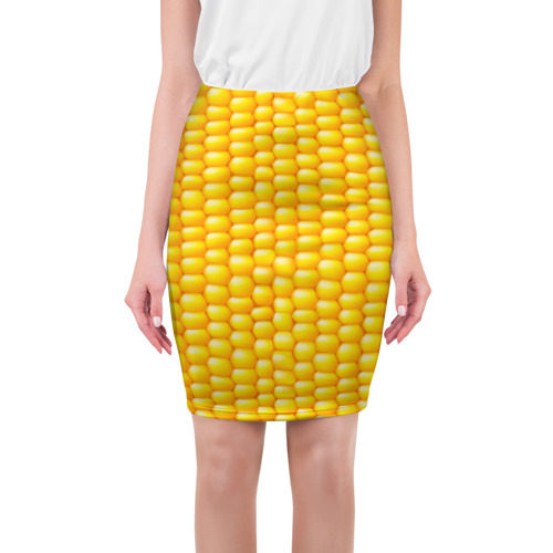 Юбка 3D  Фото 01, Сладкая вареная кукуруза