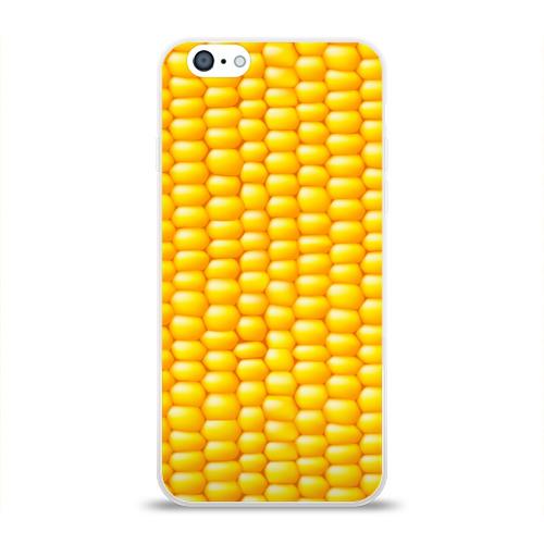 Чехол для Apple iPhone 6 силиконовый глянцевый  Фото 01, Сладкая вареная кукуруза