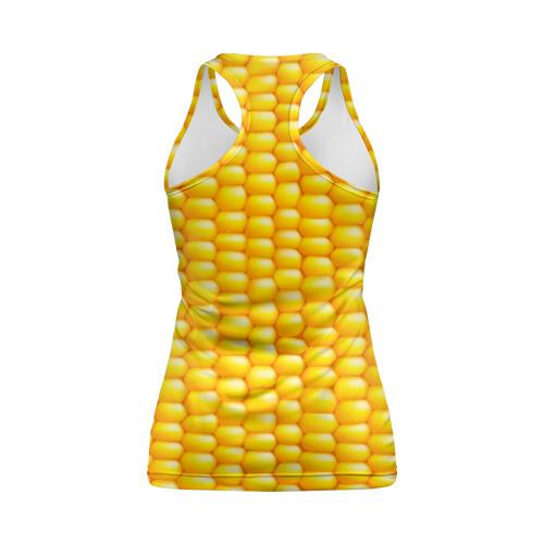 Женская майка 3D спортивная Сладкая вареная кукуруза Фото 01