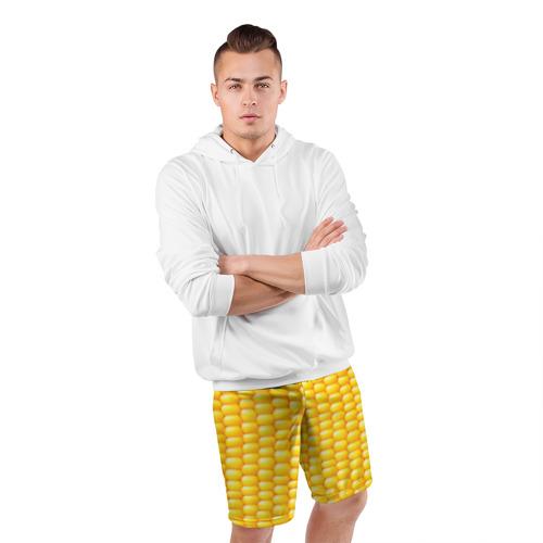Мужские шорты 3D спортивные  Фото 05, Сладкая вареная кукуруза
