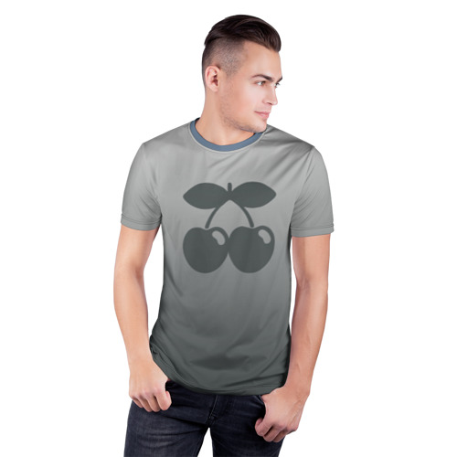 Мужская футболка 3D спортивная  Фото 03, Pacha Ibiza Gray