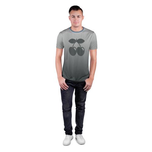 Мужская футболка 3D спортивная  Фото 04, Pacha Ibiza Gray