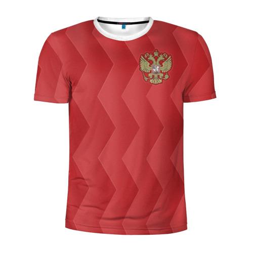 Мужская футболка 3D спортивная Сборная России
