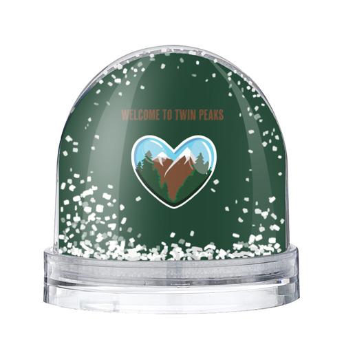 Водяной шар со снегом Добро пожаловать в Твин Пикс