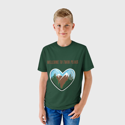 Детская футболка 3D Добро пожаловать в Твин Пикс