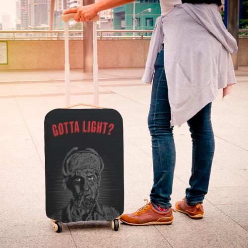 Чехол для чемодана 3D  Фото 04, Gotta light?