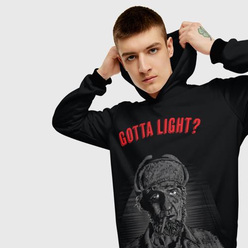 Мужская толстовка 3D Gotta light?