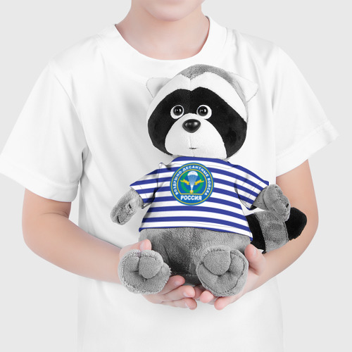 Игрушка Енотик в футболке 3D ВДВ Россия Фото 01