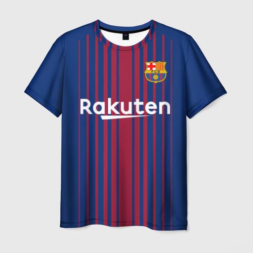 Мужская футболка 3D  Фото 03, Фк Барселона
