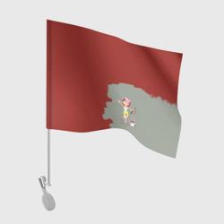 Рыжая красит в красный