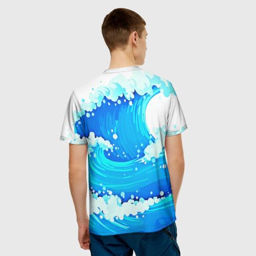 Мужская футболка 3D  Фото 02, ВМФ