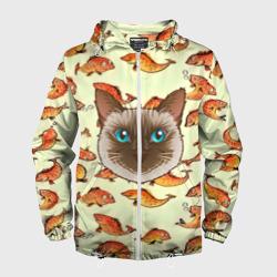 Котик в рыбках!