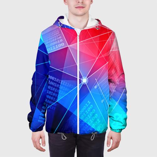 Мужская куртка 3D  Фото 04, Коды