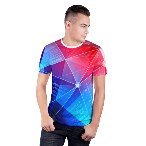 Мужская футболка 3D спортивная  Фото 03, Коды