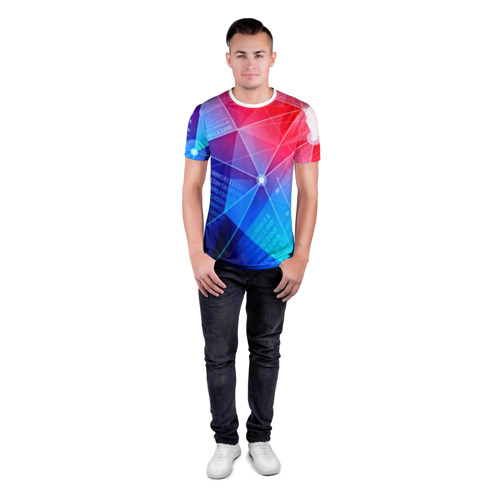 Мужская футболка 3D спортивная  Фото 04, Коды