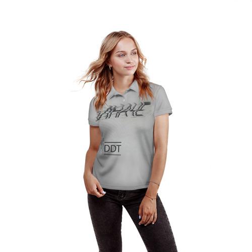 Женская рубашка поло 3D ДДТ Фото 01