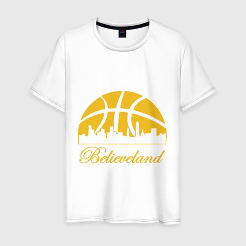 Мужская футболка хлопок Believeland