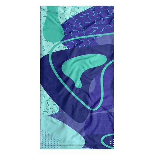 Бандана-труба 3D  Фото 07, Sky pattern