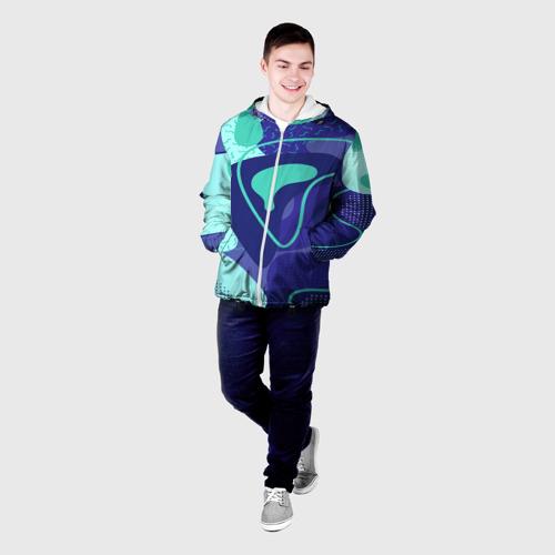 Мужская куртка 3D  Фото 03, Sky pattern