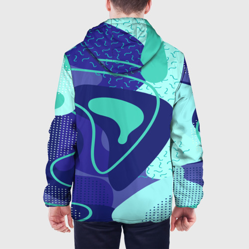 Мужская куртка 3D  Фото 05, Sky pattern