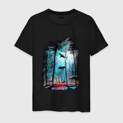 Подводный мир (лес с акулами)