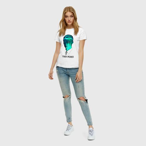 Женская футболка хлопок Twin Peaks Фото 01