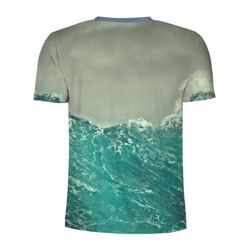 Мужская футболка 3D спортивная Морской Фото 01