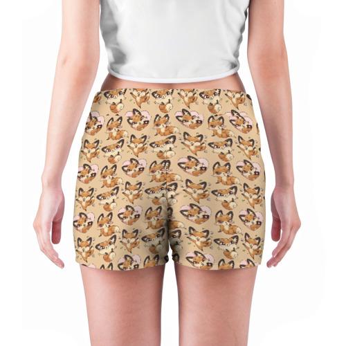 Женские шорты 3D  Фото 04, Лиса Луна
