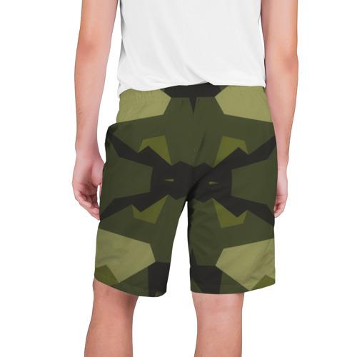 Мужские шорты 3D  Фото 02, Геометричный Камуфляж Череп