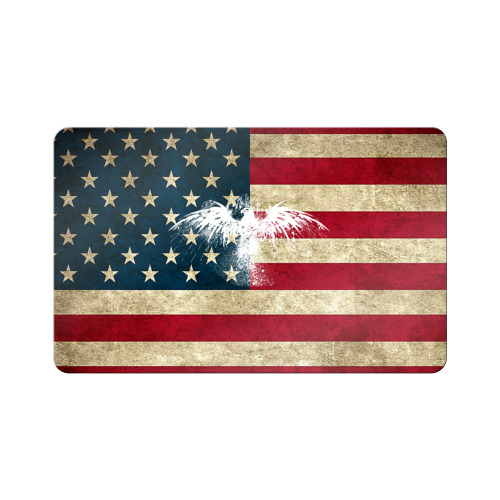 Флаг США с белым орлом