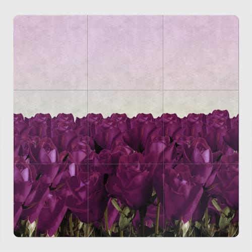 Магнитный плакат 3Х3 Розы