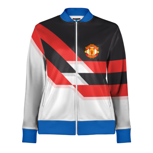 Женская олимпийка 3D Manchester United - Stripe