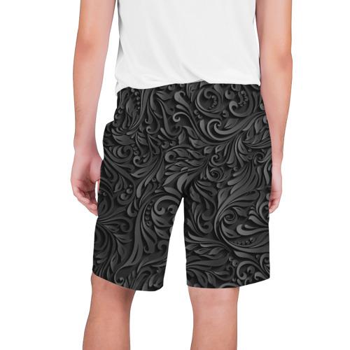 Мужские шорты 3D  Фото 02, Вырезанный Узор