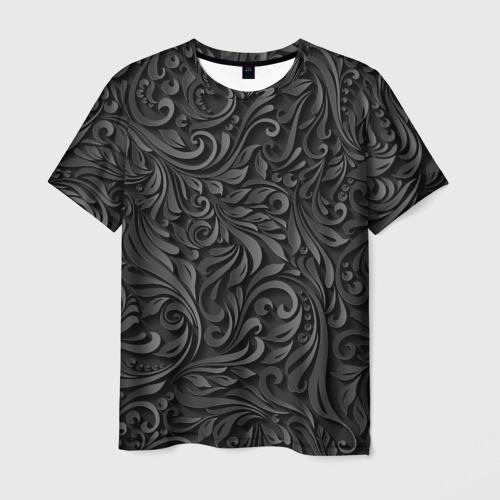 Мужская футболка 3D  Фото 03, Вырезанный Узор