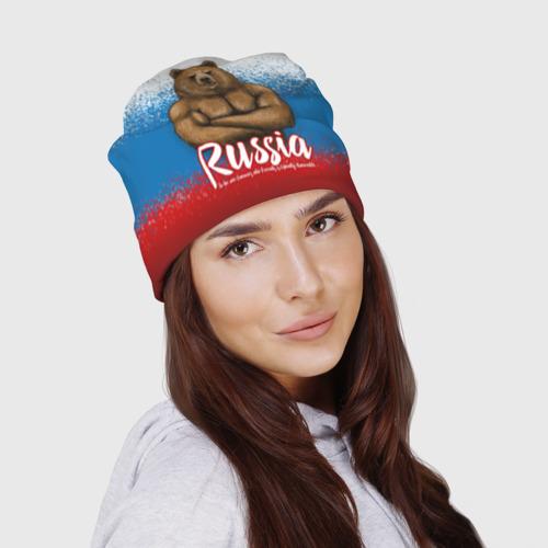 Шапка 3D Russian Bear Фото 01