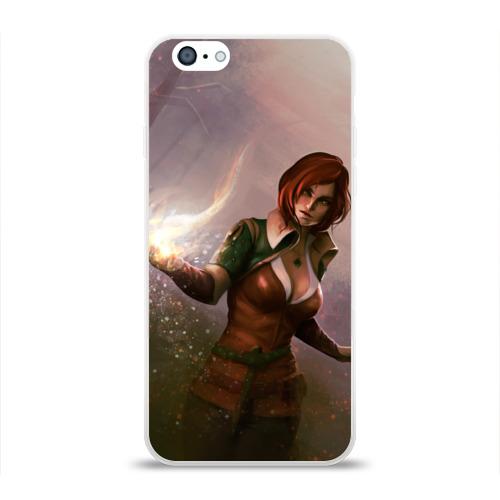 Чехол для Apple iPhone 6 силиконовый глянцевый  Фото 01, Triss