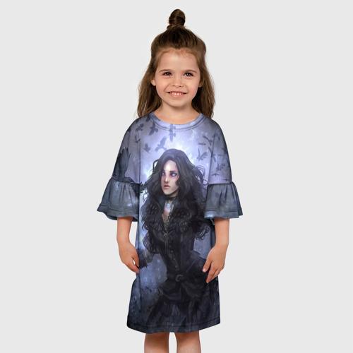 Детское платье 3D Йеннифер